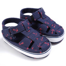 Baby Boys Summer Casual Print Hook Sandals  - Multi Colours Available