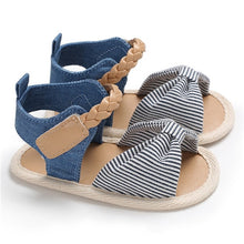 Baby Girl Woven Bow-Knot Summer Sandals - Anti-slip - Multi Colours Available