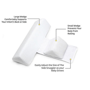 Baby Bedding Care Newborn Adjustable Memory Foam Pillow Support Prevent Flat Head Shape Anti Roll