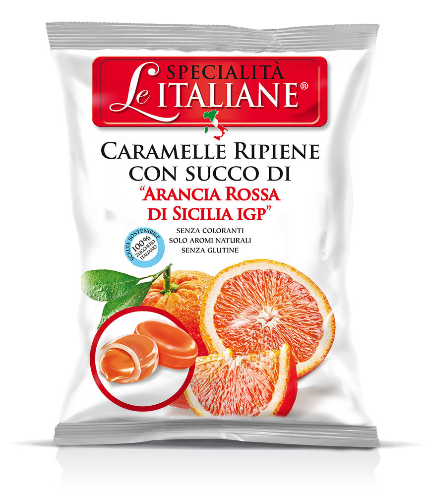 The Italian Specialities - Candies with Sicilian Blood Orange 100g