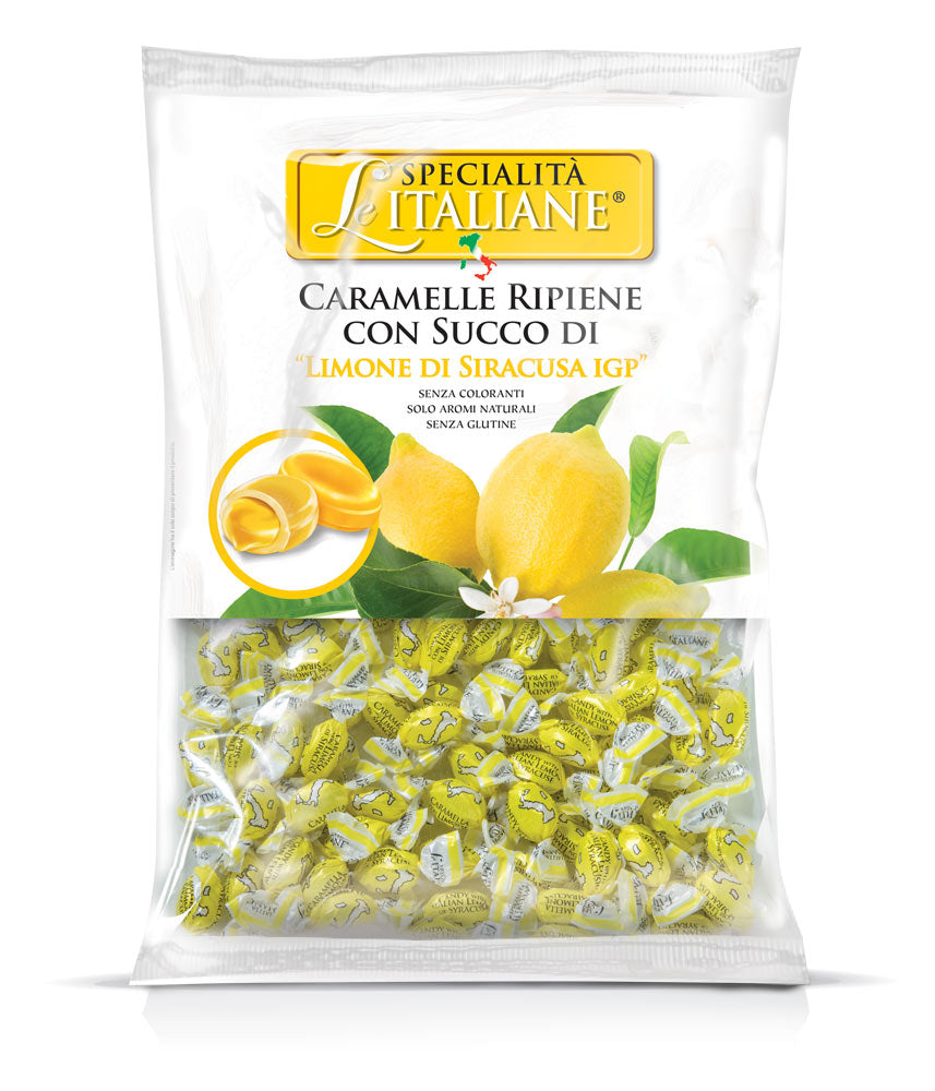 The Italian Specialities – Mini Candies with Siracusa Lemon Bulk 750g