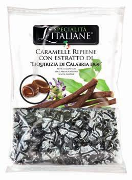 The  Italian Specialties - Mini Candies with Liquirizia di Calabria DOP Bulk 750g