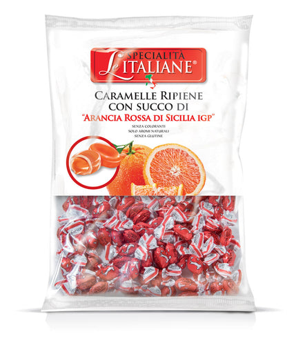 The Italian Specialities - Mini Candies with Sicilian Blood Orange Bulk 750g