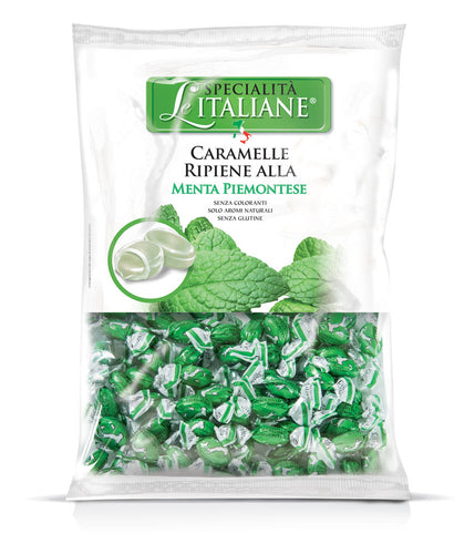 The Italian Specialties - Mini Candies with Menta Piemontese Bulk 750g