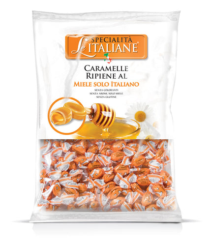 The Italian Specialties - Mini Candies with Miele Italiano Bulk 750g
