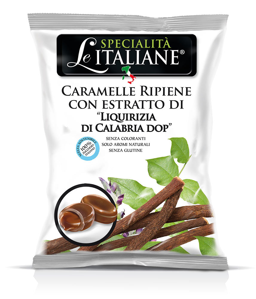 The  Italian Specialties - Candies with Liquirizia di Calabria DOP 100g