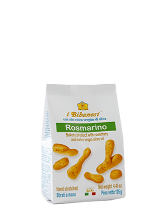 Bibanesi Rosemary Breadsticks 125g
