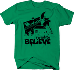 I Want to Believe Santa Christmas Reindeer Xmas
