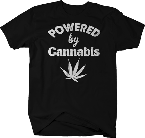 Powered by Cannabis Weed Pot