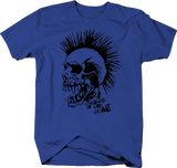 Punks Not Dead Skull Mohawk Metal