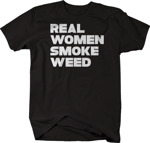 Real Women Smoke Weed Pot Cannabis