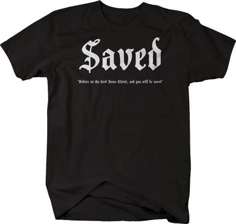 Saved - Lord Jesus Christ Bible
