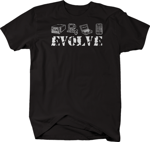 Evolve Typewriter Computer Laptop Cell Phone