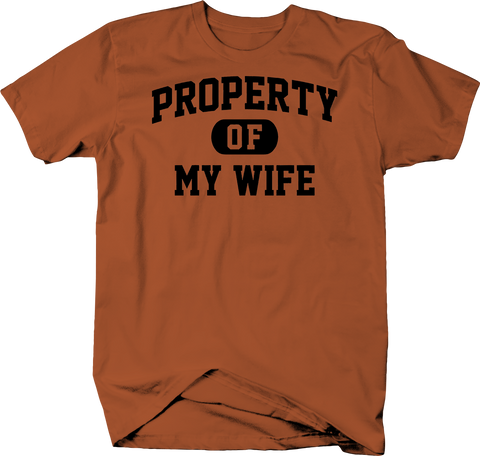 Property of My Wife Husband Married