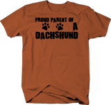 Proud Parent of a Dachshund Dog Lover