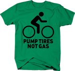 Pumping Tires not Gas Pedal Bike Environment