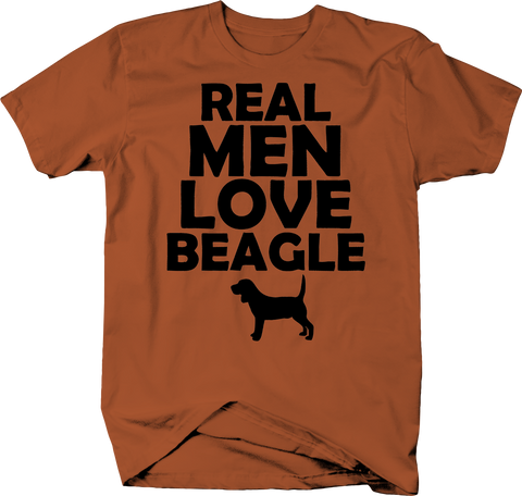 Real Men Love Beagles Dog Lover