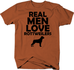 Real Men Love Rottweilers Rotty Dog