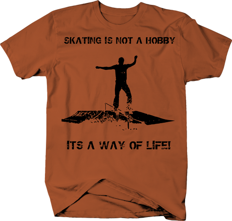 Skating Not a Hobby Way of Life Skateboard