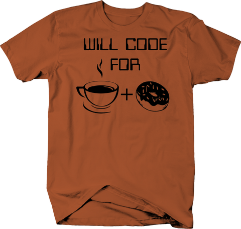 Will Code for Coffee Doughnuts