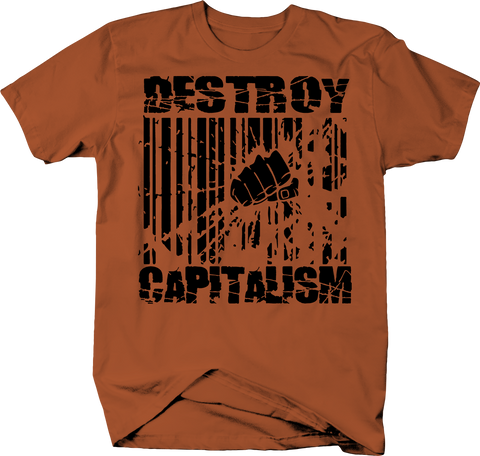 Destroy Capitalism Barcode UPC