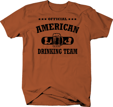 Official American Drinking Team America USA Beer