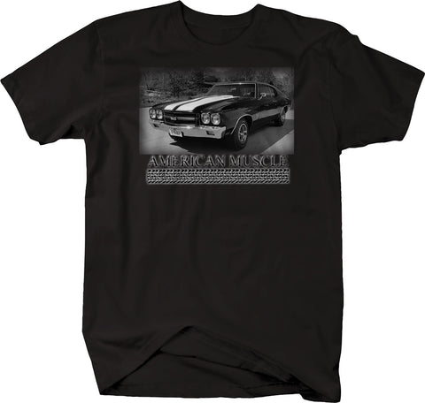 American Muscle Car SS Racing Classic Tee