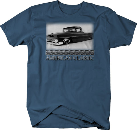 American C10 Lowered Custom Pickup Classic Car T-Shirt