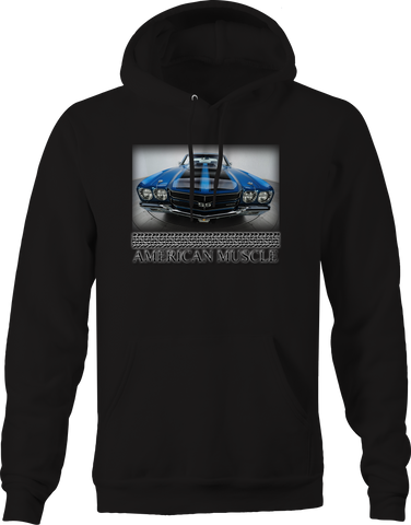 American Muscle SS Black Blue Racing