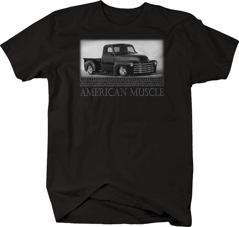 American Lowered PickUp Truck Apache 3100 Vintage Car T-Shirt