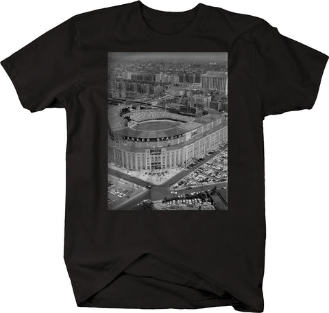 Baseball - Yankee Stadium Vintage Original Retro New York Tshirt