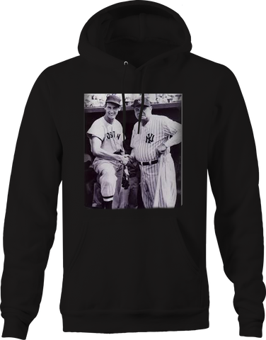 Babe Ruth & Ted - Sox Yankees Baseball Greatest Vintage