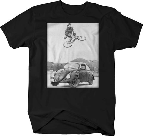 Patina Beetle Bug BMX Bike Jumping Shirt
