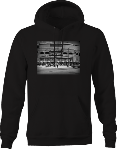 Comiskey Park Sox Baseball Vintage Stadium Retro Throwback