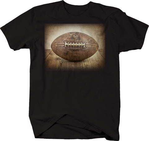Vintage Throwback Football Leather Pigskin League Sunday Gameday