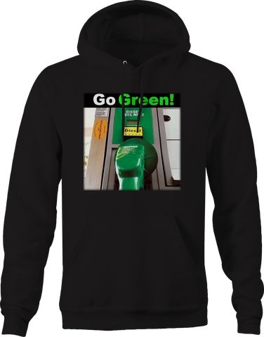 Diesel Go Green! Funny Truck Turbo Spool Gasoline