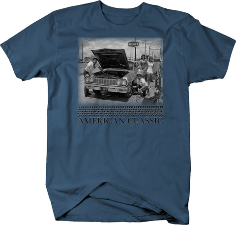 American Classic Service Station Models Tee