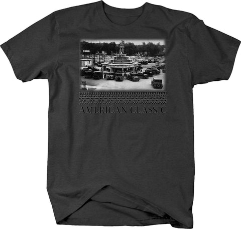 American Classic Drive Up Diner T-Shirt