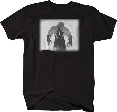 Hulk vs Bruce Superhero Inner Demon Tshirt