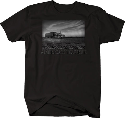 American Trucker Semi Long Haul  Tshirt