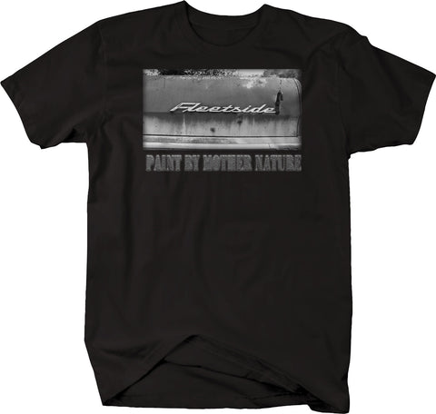 Paint By Mother Nature Truck Fleetside Patina Barn Sedan Tshirt