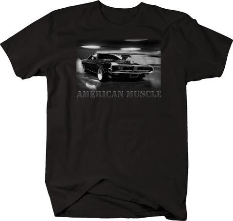 American Muscle Hotrod Supercharger Big Block Horsepower Classic  Tshirt