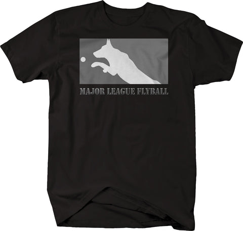 Major League Flyball Dog Sports  Tshirt