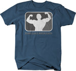 Major League Bodybuilding Arnold Weight Lifting Gym Workout  Tshirt