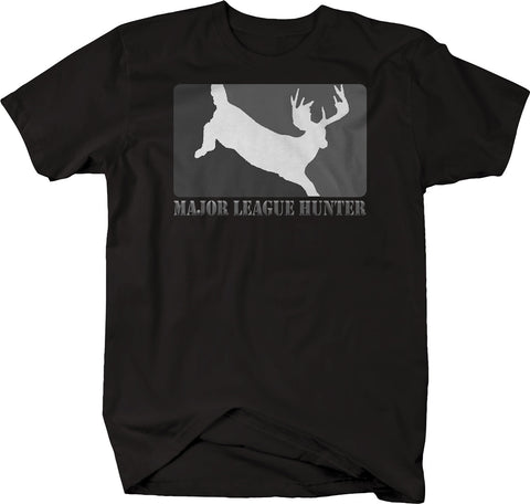 Major League Hunter Deer Hunting Whitetail Bow Rifle  Tshirt