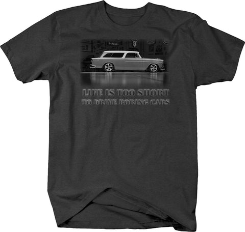 Life is Too Short to Drive Boring Cars T-Shirt