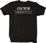 Clutch Throttle - Racing Garage Muscle Car Import American  Tshirt