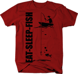 Eat Sleep Fish Boat Fishing