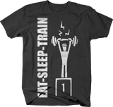 Eat Sleep Train Repeat Lifting Workout Bench Deadlift