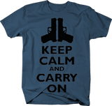 Keep Calm and Carry On Pistols Guns